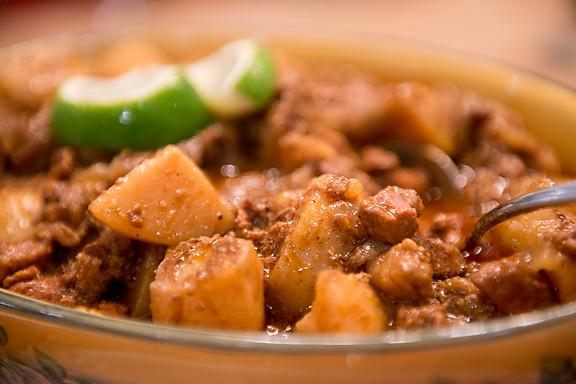 Indian Feast, Cherie Scott